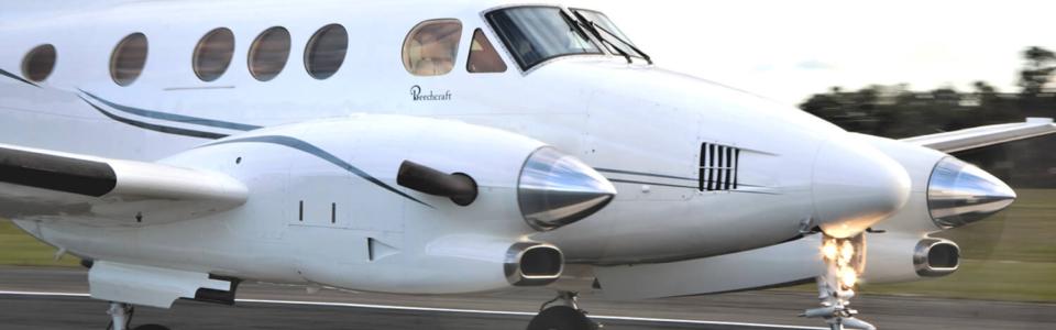 King Air C90B VH-KQB